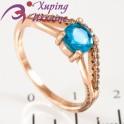 Кольцо позолота Камушек 0,6 в 4х держ. под тонким изгибом линии мелк. камней