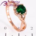 """Кольцо позолота Камень 0,6 вокруг мелкие отдельно (""""цветочек"""")"""
