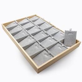 Планшет для комплектов бижутерии, с вкладышами 35х24х3 см