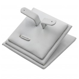Подставка для комплекта бижутерии, кожа