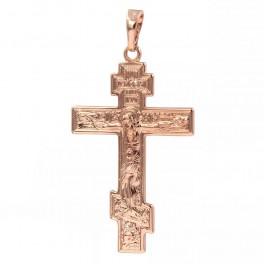 Крестик позолоченный