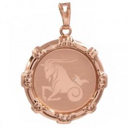 Подвеска Знак Зодиака Козерог (Медицинское золото)