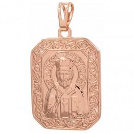 Ладанка позолоченная (Св. Николай)