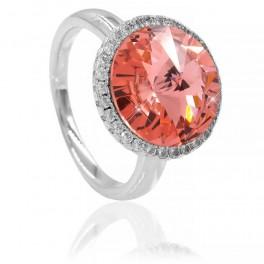 Кольцо с кристаллом Swarovski