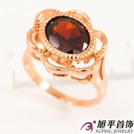 """Кольцо позолота """"Перстень - бол. овальный камень в мет. каемочке"""""""